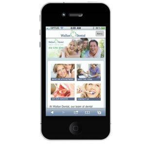 mobile dentist website